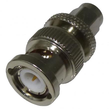 RSA3459 Between Series Adapter, SMA Male to BNC Male, Straight, RFI