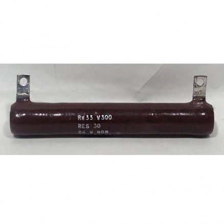 RW33V300 Wirewound Resistor, 30 ohm 26 watt, Memcor