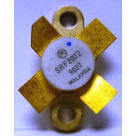 SRF2072 Transistor, Matched Quad, 70w, 12.5v, 14-30 MHz, 0.380 Flange, MFR: Motorola (MRF455)