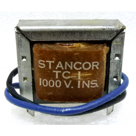 TC-1  High Current Filter Choke, 0.003 Henry, 1000ma DC, Stancor