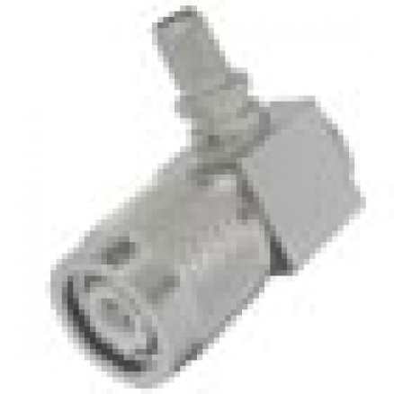 TC240TMRA TNC Male Crimp Connector, Right Angle, Cable Group X,  Times