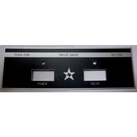 TEXFACE1200  Replacement Faceplate DX1200, Texas Star