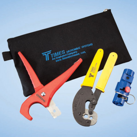 TK400EZ  Tool Kit for LMR400 Crimp Connectors. Times Microwave