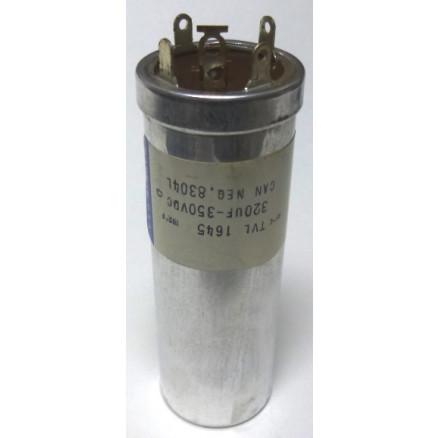 TVL1645 Sprague Capacitor 320 uf 350v twist lock metal can