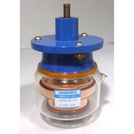 UCSVH-35-35S Vacuum Variable Capacitor, 8-35pf, 35kv Peak, Jennings (Clean Used)