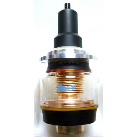 UCSXF-1200-7.5 Vacuum Variable Capacitor, 15-1200pf, 7.5kv Peak, Jennings (Clean Used)