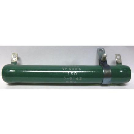 VP50KA-1K  Wirewound Resistor(Adjustable), 1k ohms 50 watts, Clarotat