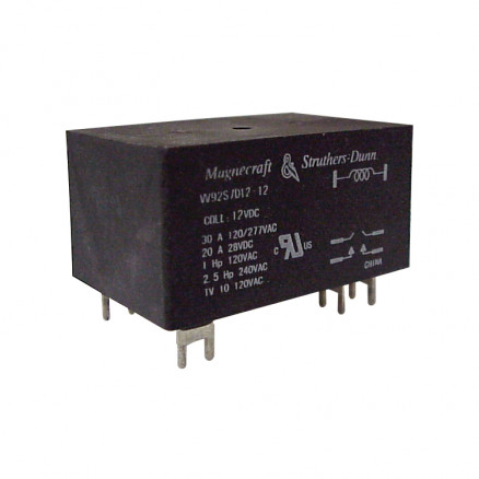 W92S7D12-12 Relay, magnecraft 12v 30a