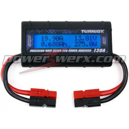 WATTMETER-PP    DC Inline Watt Meter and Power Analyzer, Powerpole Ends